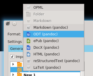 Adds: Importer (docx, html, opml, …) · Issue #200 · olivierkes