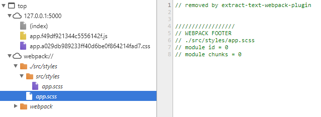 Weird source map paths when used together with sass-loader