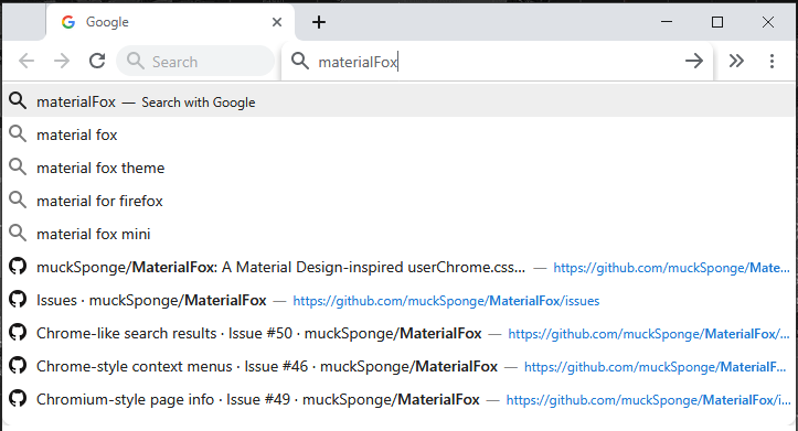 Chrome-like search results · Issue #50 · muckSponge