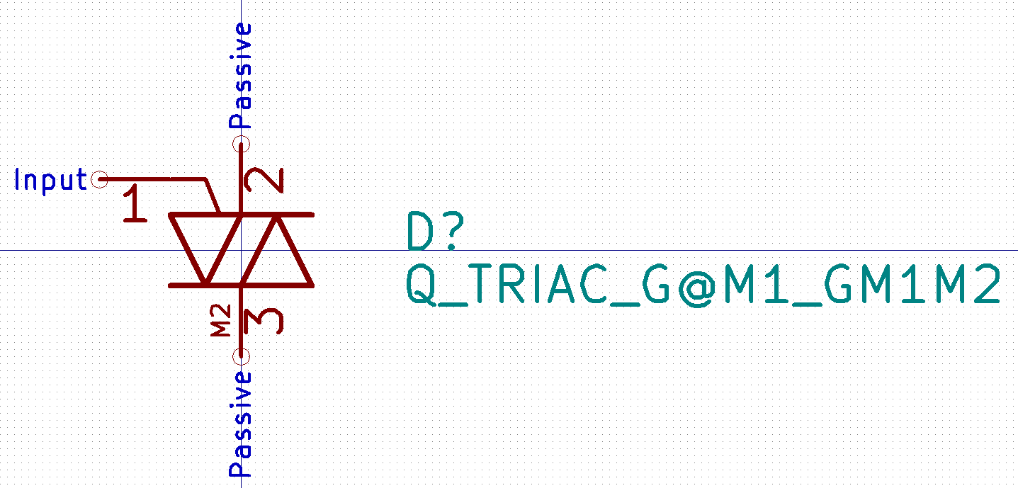 Triac Symbols Needs Correction Or New Symbol Issue 1814 Kicad Snubber Circuit The Could Be A Jkriege2 Commented On Nov 19 2017