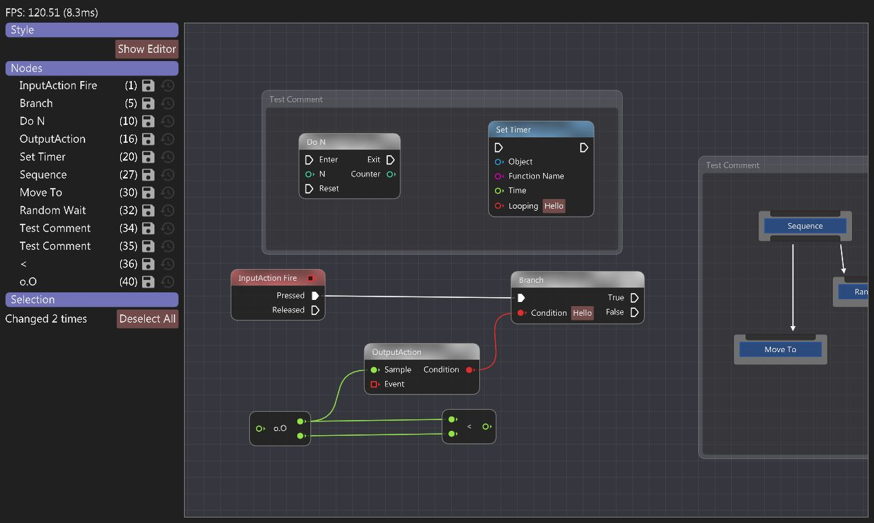 Developers - Node Graph Editors with ImGui -