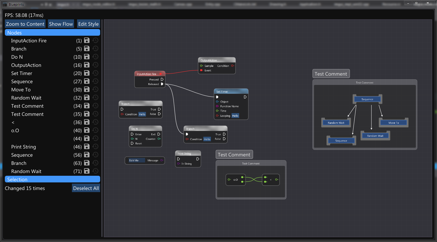 Node Graph Editors with ImGui · Issue #306 · ocornut/imgui