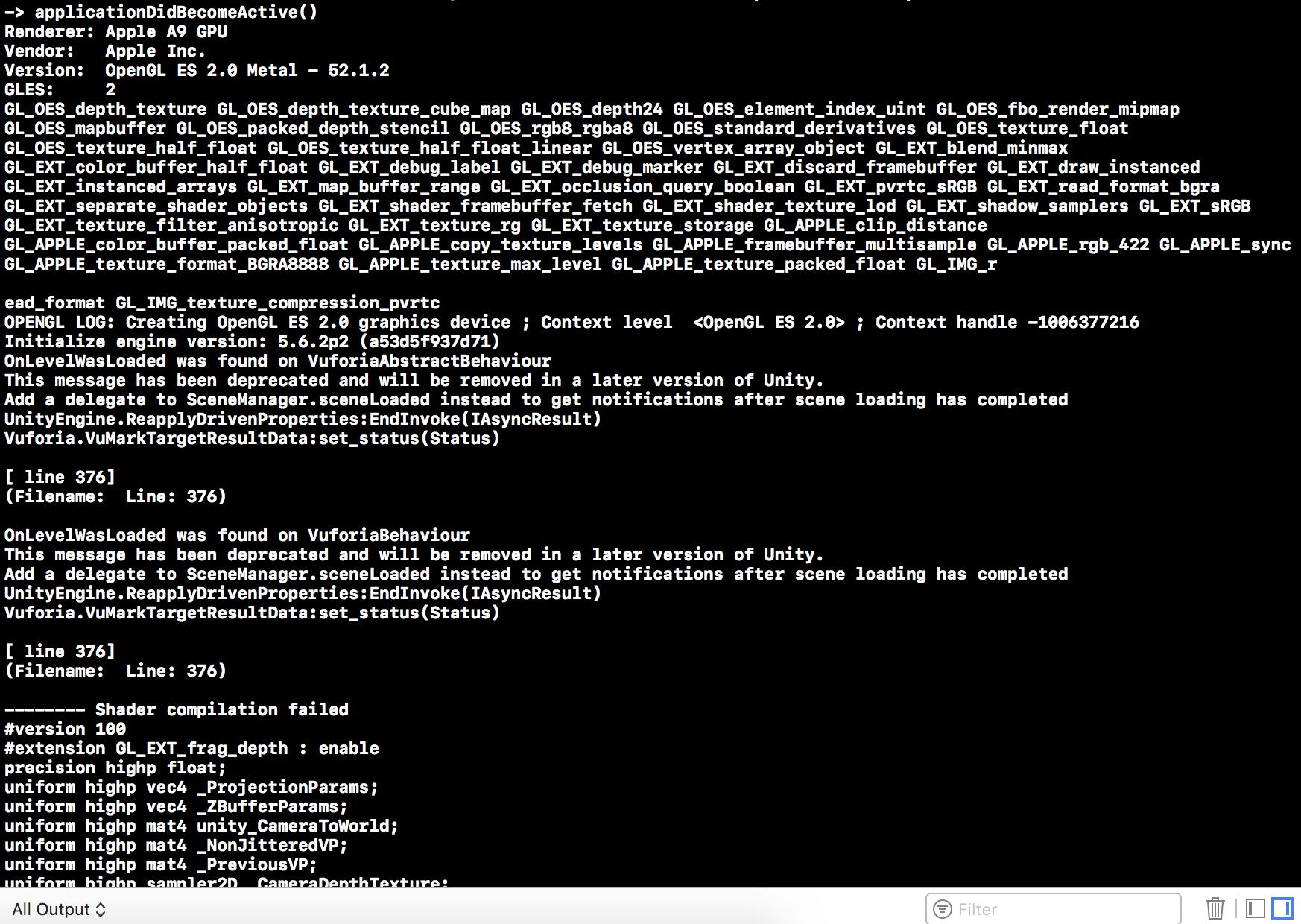 Crash on startup (Xcode 9 2 , Unity2017) · Issue #57 · jiulongw