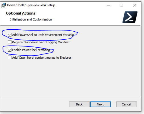 MSI installer doesn't enable remoting even after selecting it