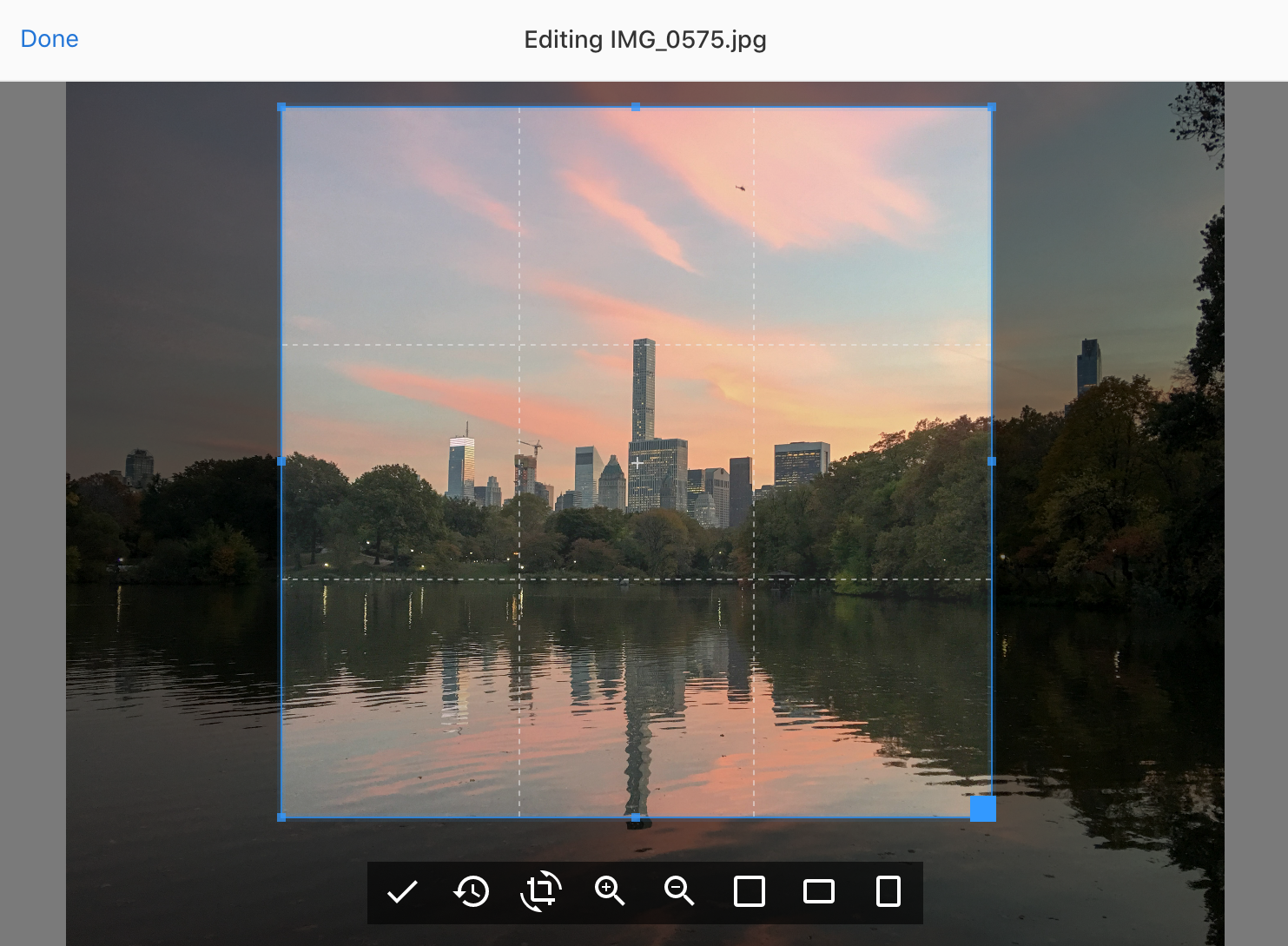 Screenshor of the Image Editor plugin UI in Dashboard