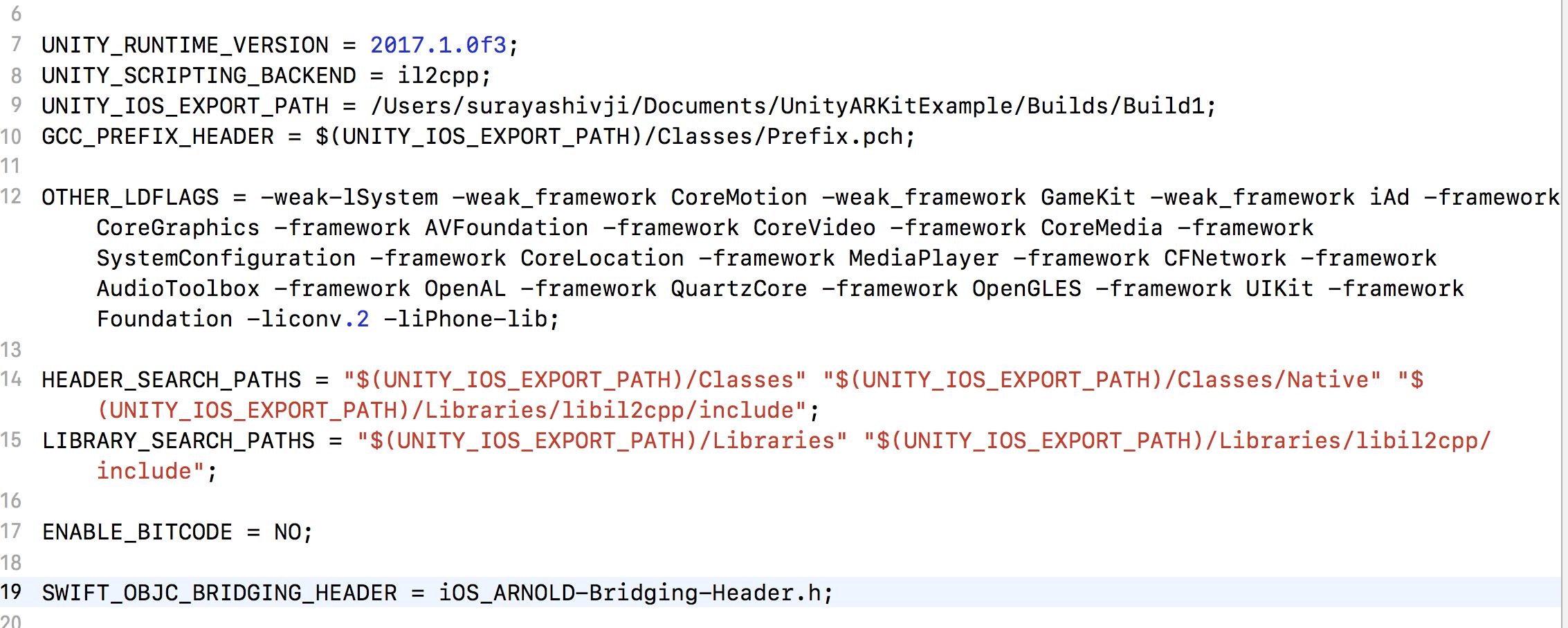 UnityAppController h' file not found · Issue #53