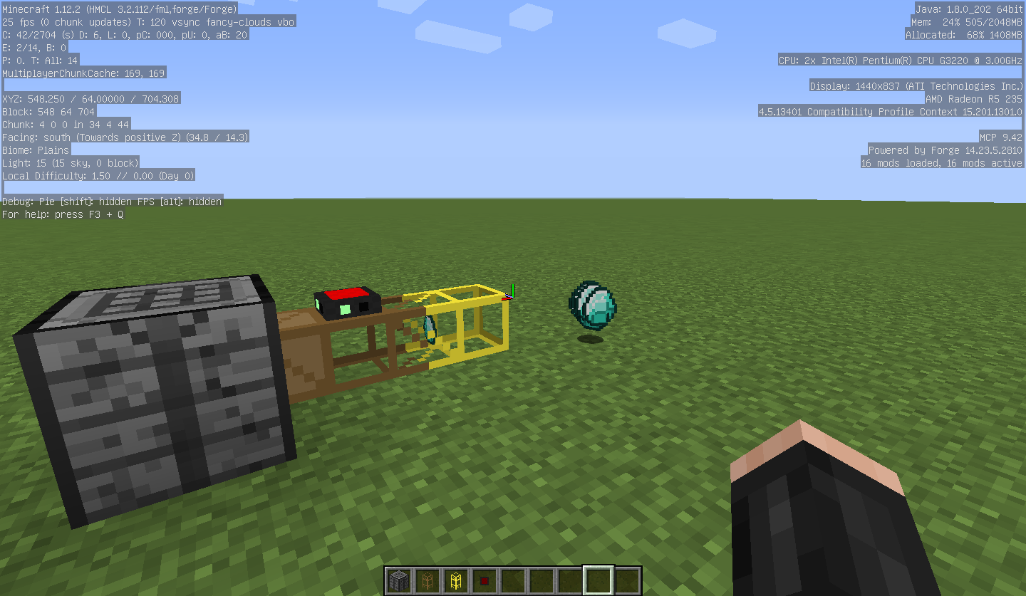 Magnetic crafting table allows infinite item duplication