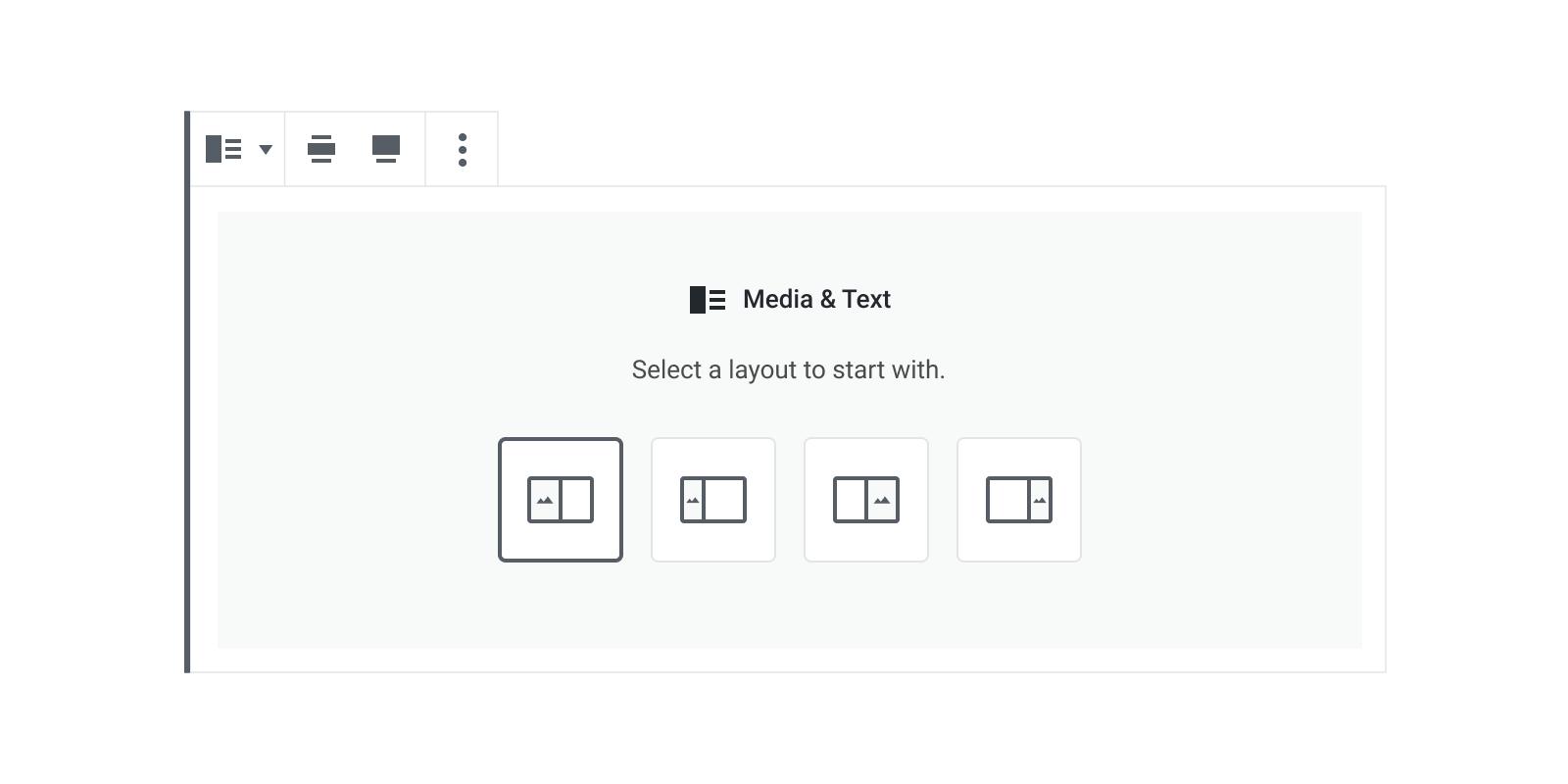 Example - Media Text