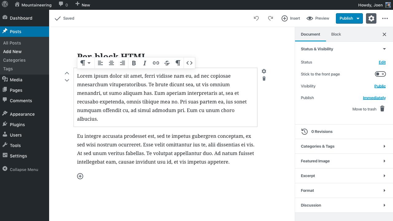 desktop toolbar overflow