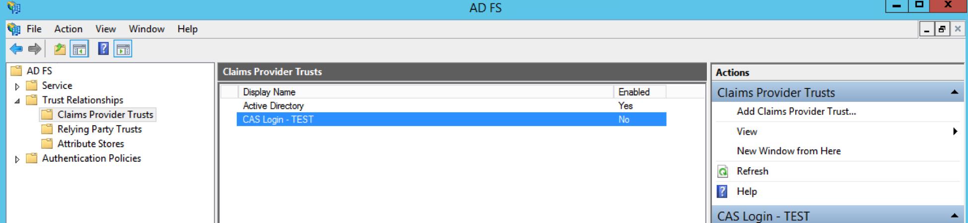 Apereo CAS SAML Integration With ADFS – Apereo Community Blog