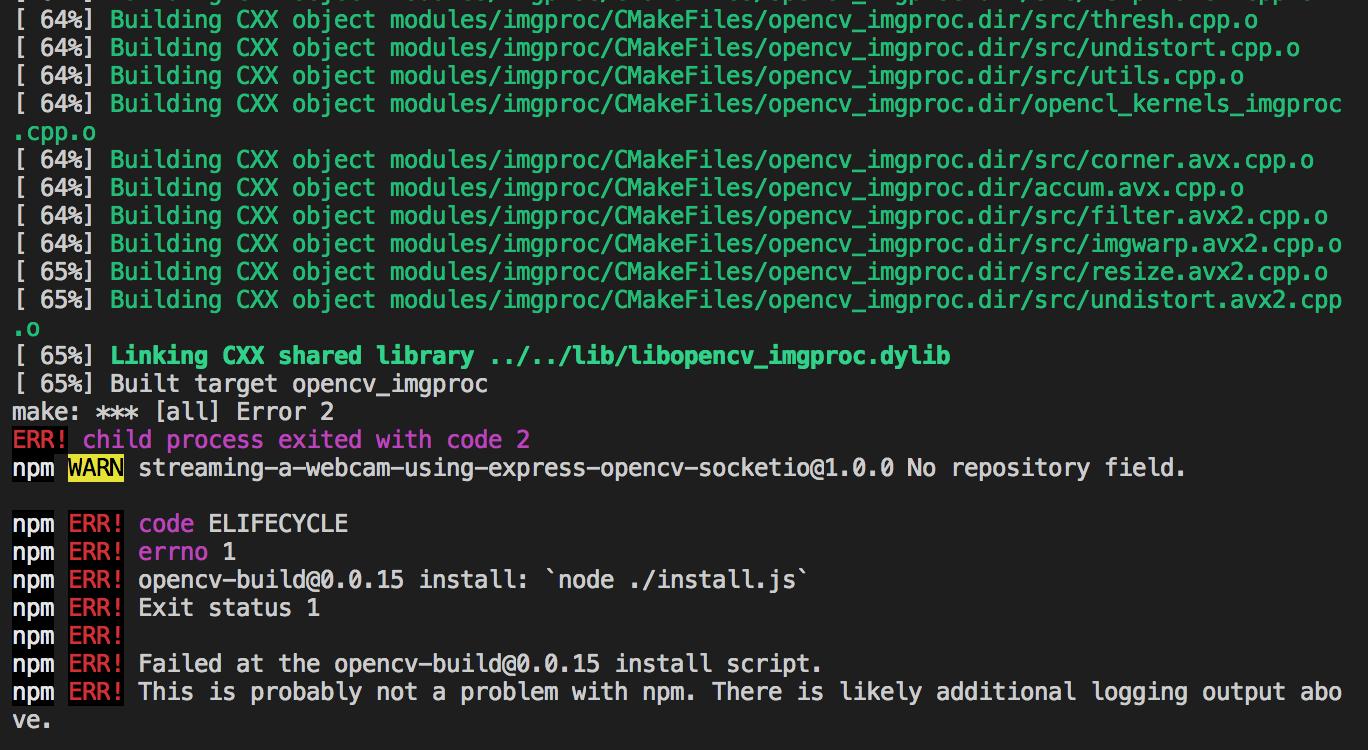 opencv4nodejs build error · Issue #396 · justadudewhohacks