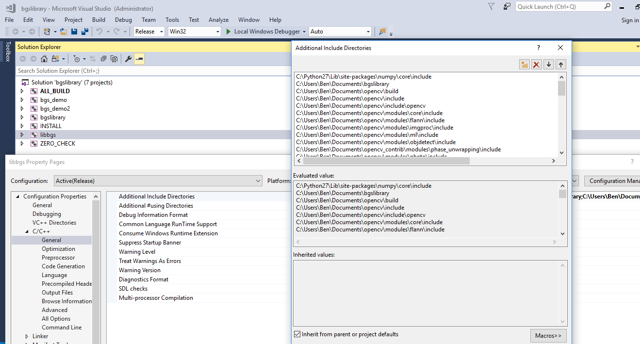 Visual Studio Build Error Windows Python Support Mixing A Dll