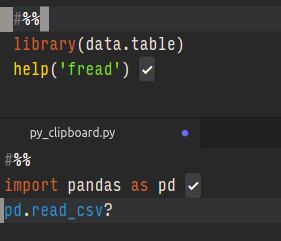 using `help` doesn't display documentation in python / r