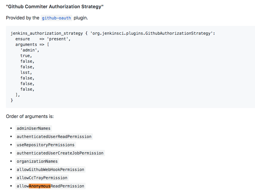 disable anonymous read when jenkins_authorization_strategy