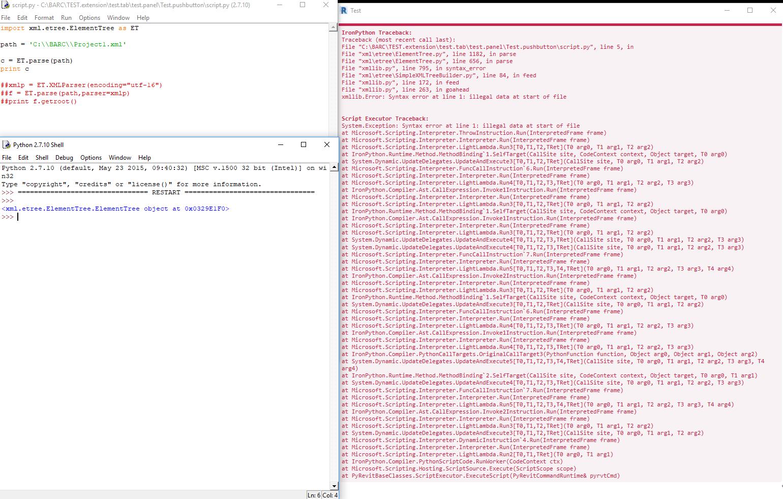 XML Parsing error · Issue #354 · eirannejad/pyRevit · GitHub