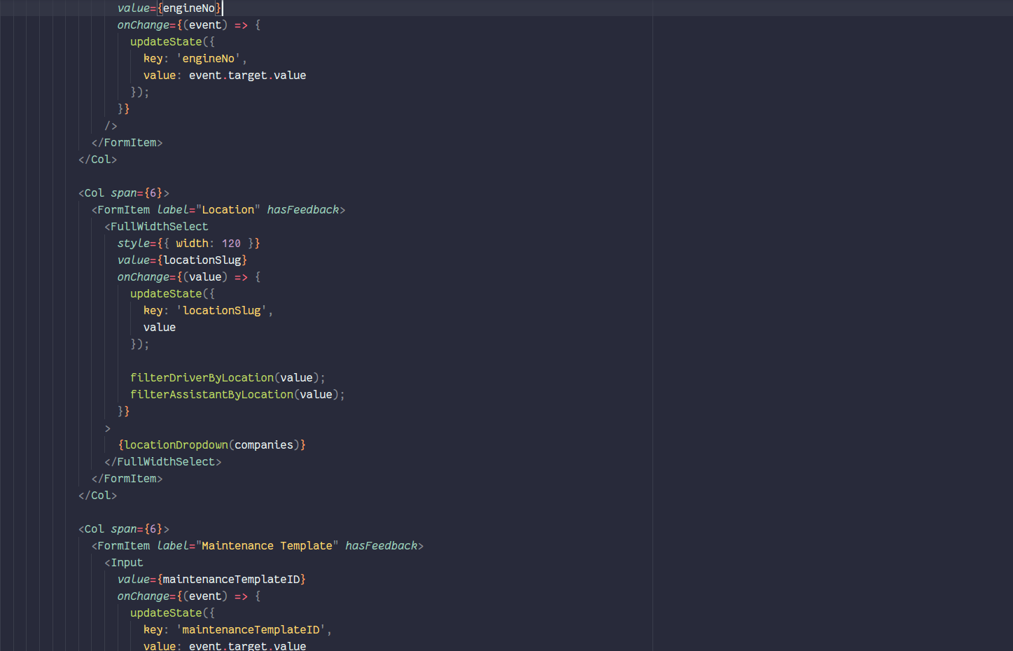 Recently on some javascript files, prettier started to break