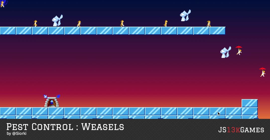 Pest Control : Weasels by @Siorki
