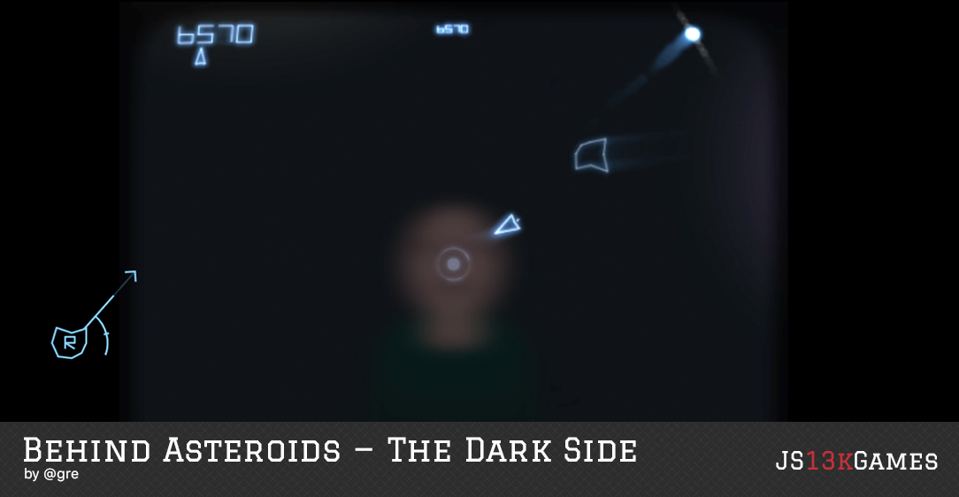 Behind Asteroids - The Dark Side by @greweb