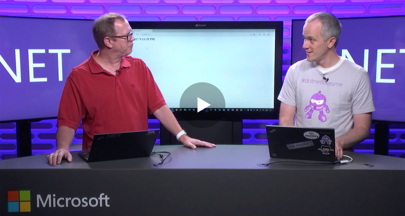.NET Core 2.0 discussions on Microsoft's Channel 9