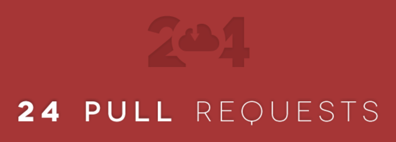 24 Pull Requests Logo
