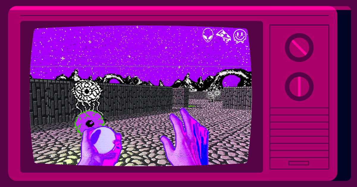 Screenshot of BAD VIBES game