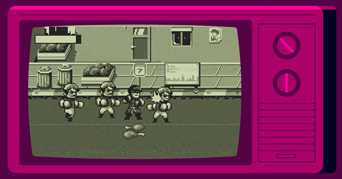 Screenshot of Kickpunch game