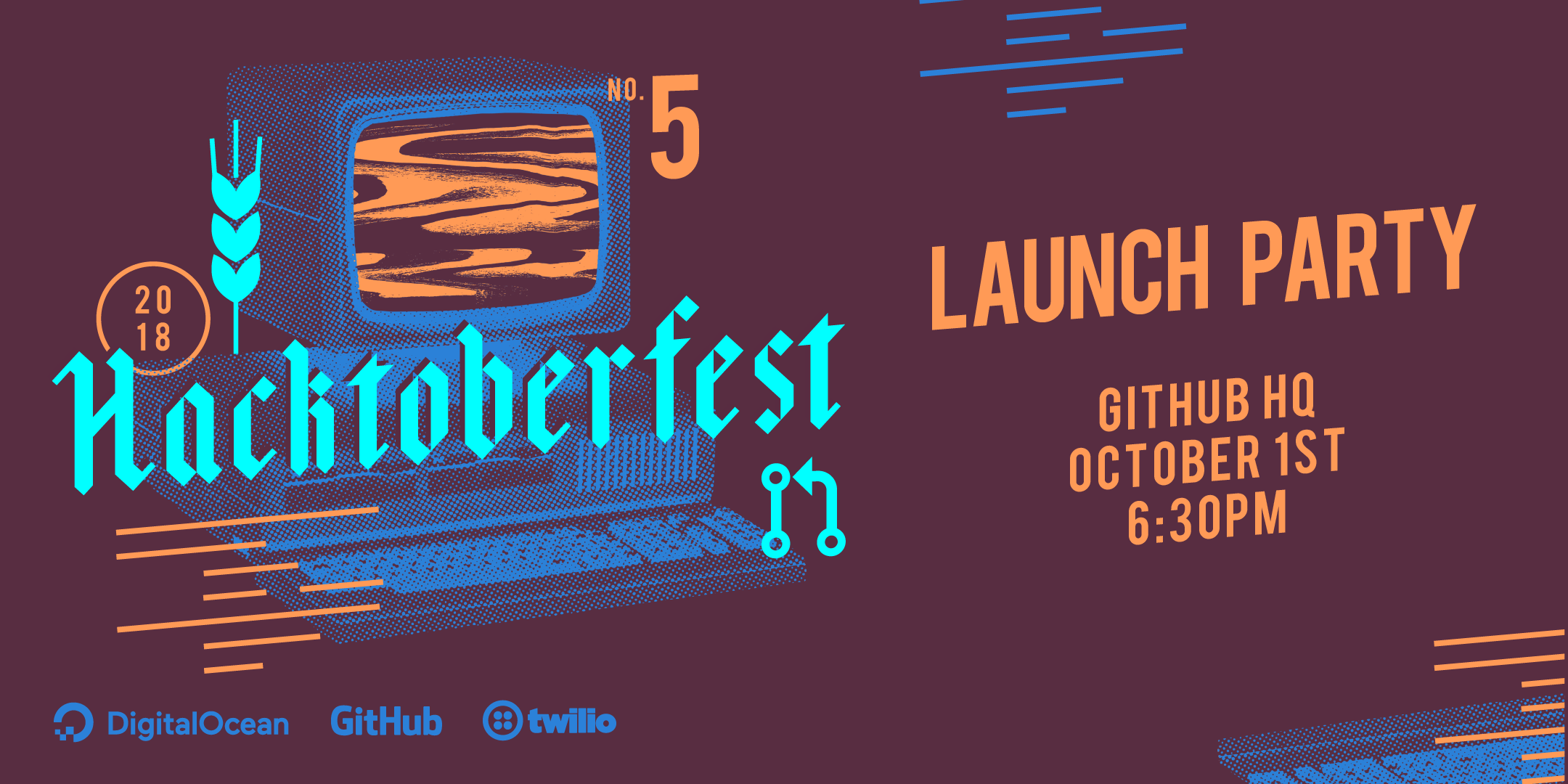 Hacktoberfest 2018 Launch Party