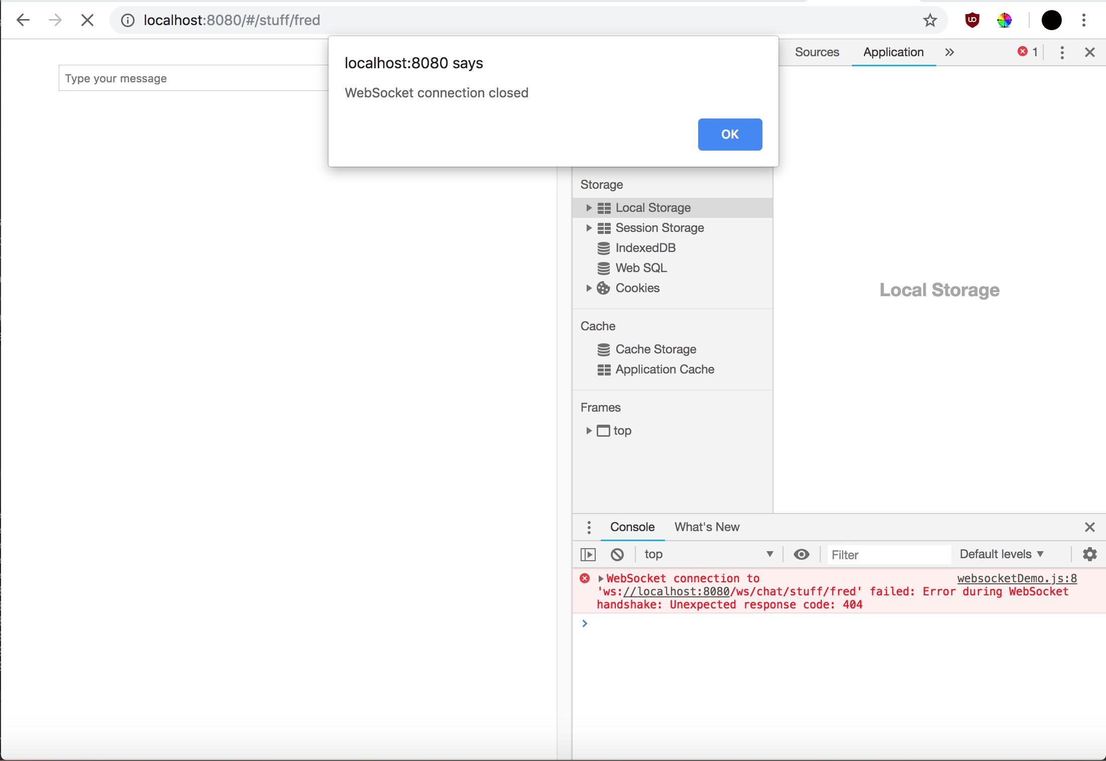 Websocket returns 404 · Issue #924 · micronaut-projects/micronaut