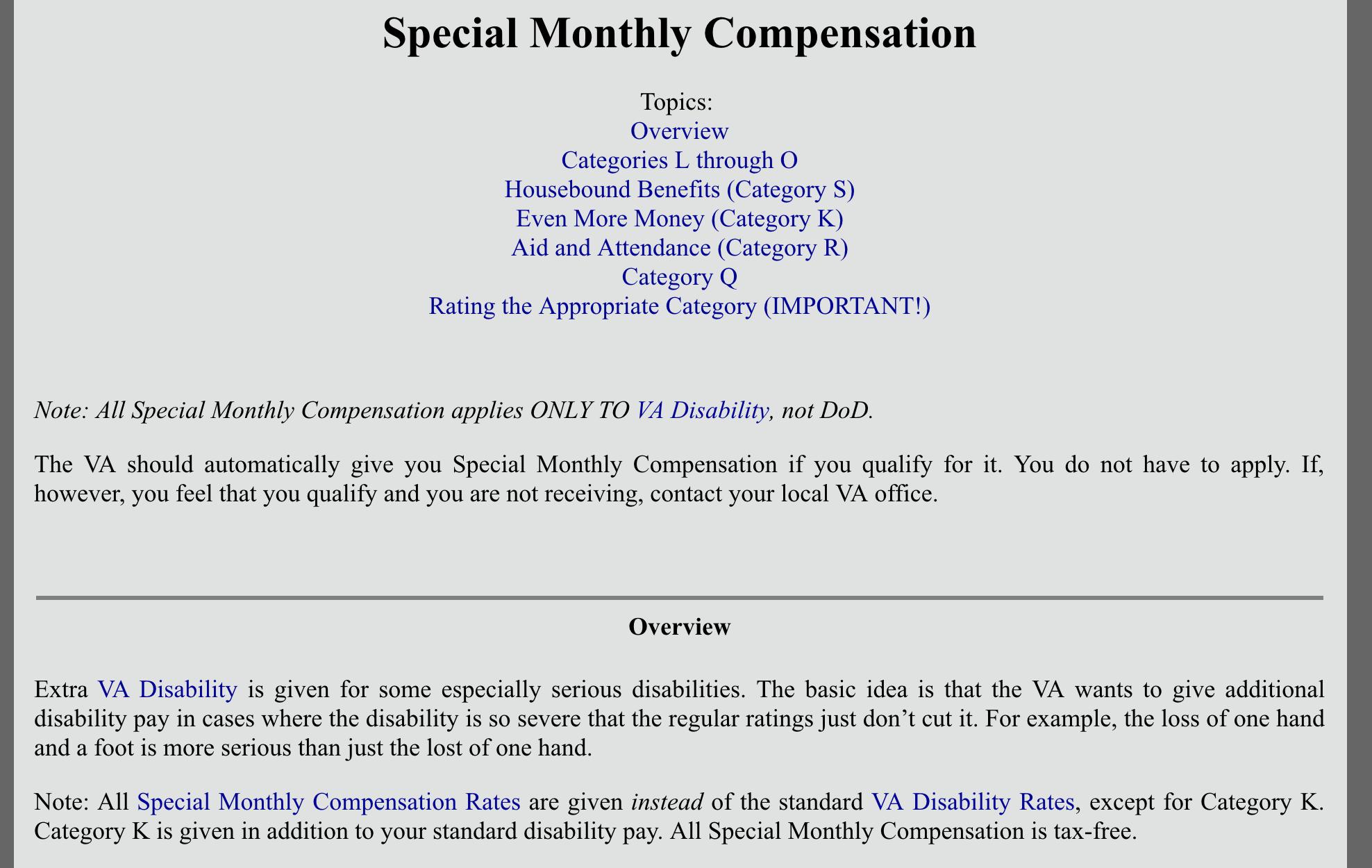 Va Compensation Rates 2018