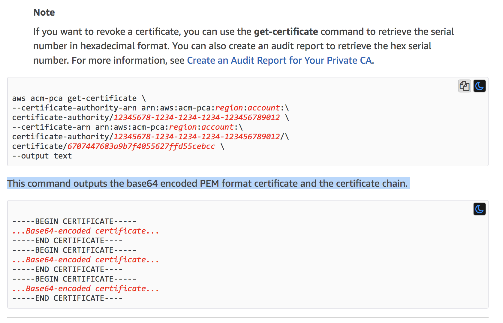 Private CA Certificates in wrong format (extra tab) · Issue