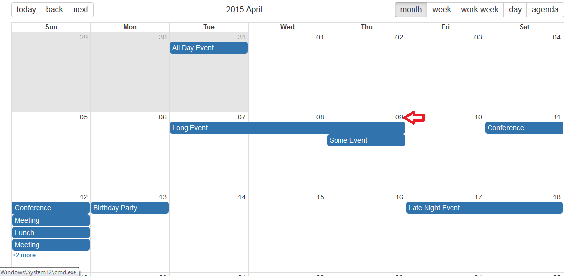 Onview Event Should Set Date Along With The View Name Issue 732