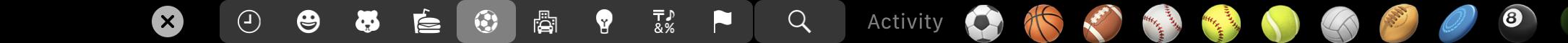 activated emoji picker