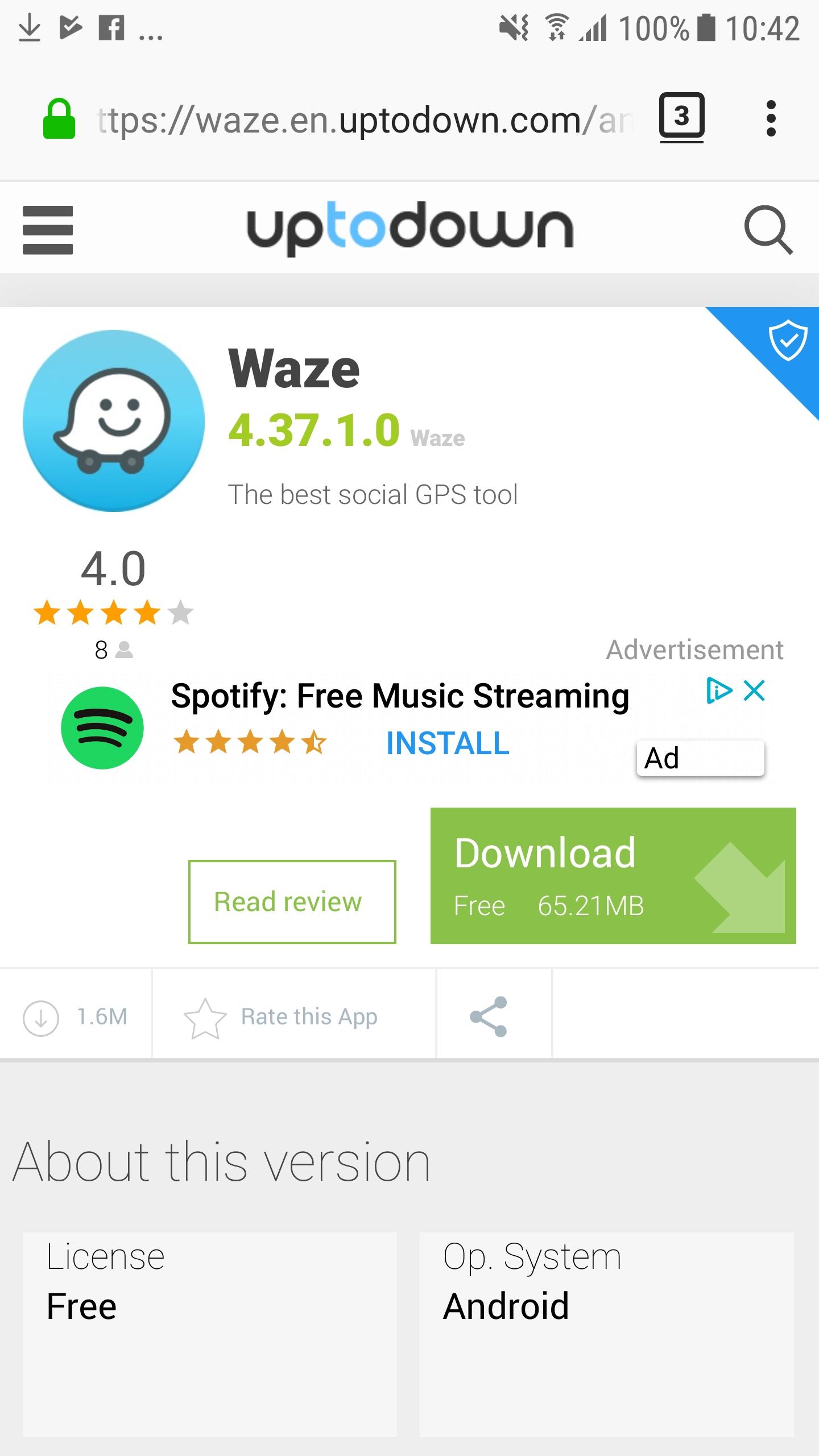 spotify premium free apk uptodown