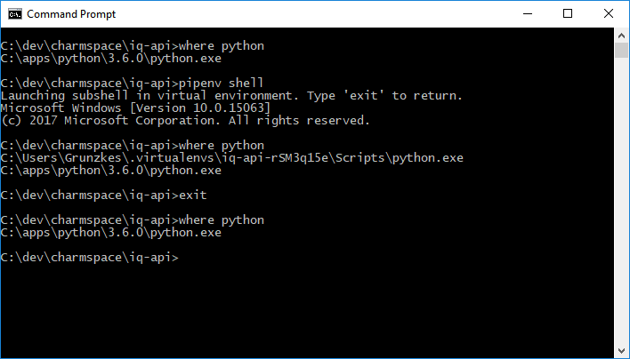 pipenv shell malforms PATH on git bash for windows · Issue