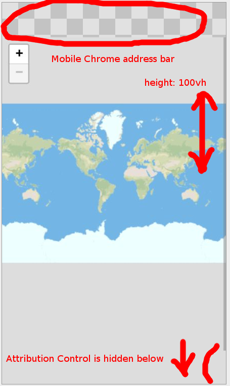 contributions not visible in fullscreen map using chrome on