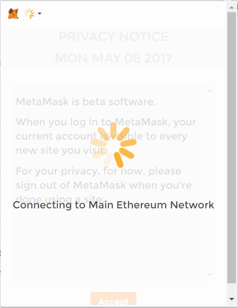 network changed error