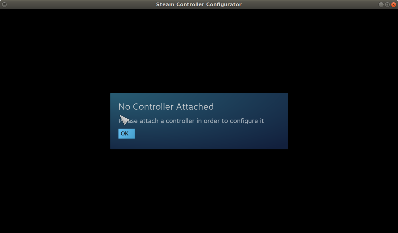 No controller is detected · Issue #5479 · ValveSoftware