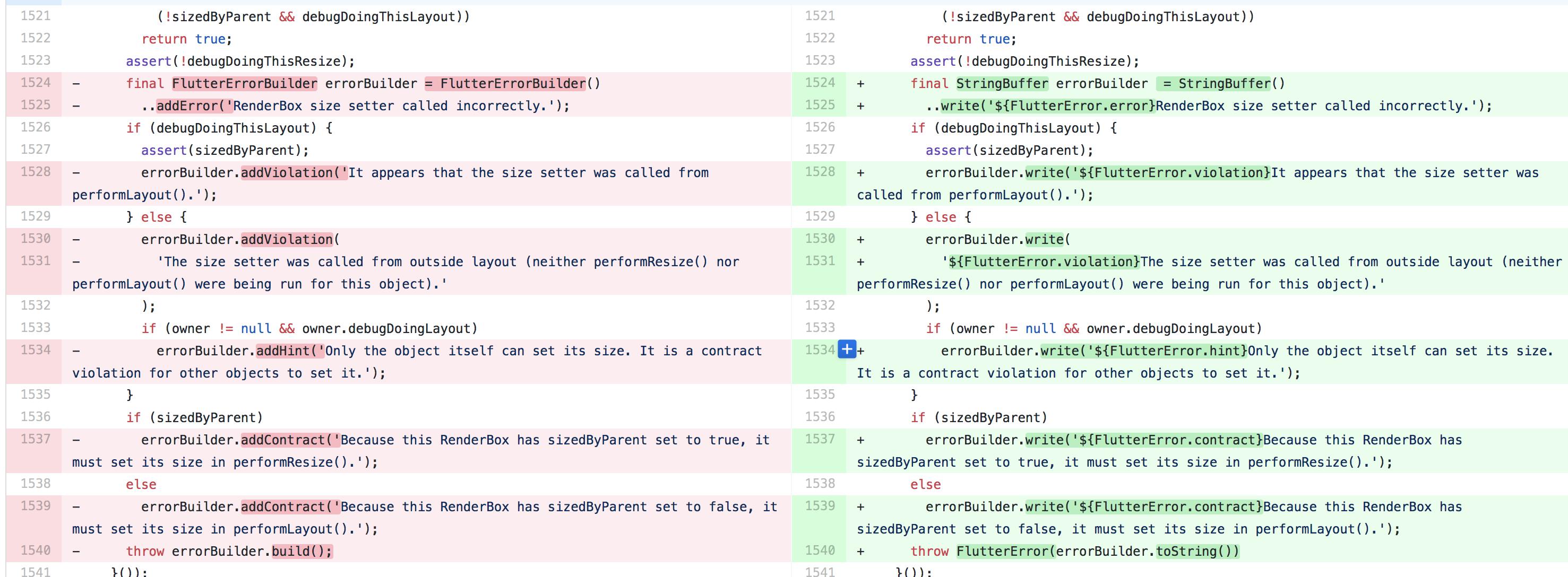 Support structured error messages · Issue #27327 · flutter