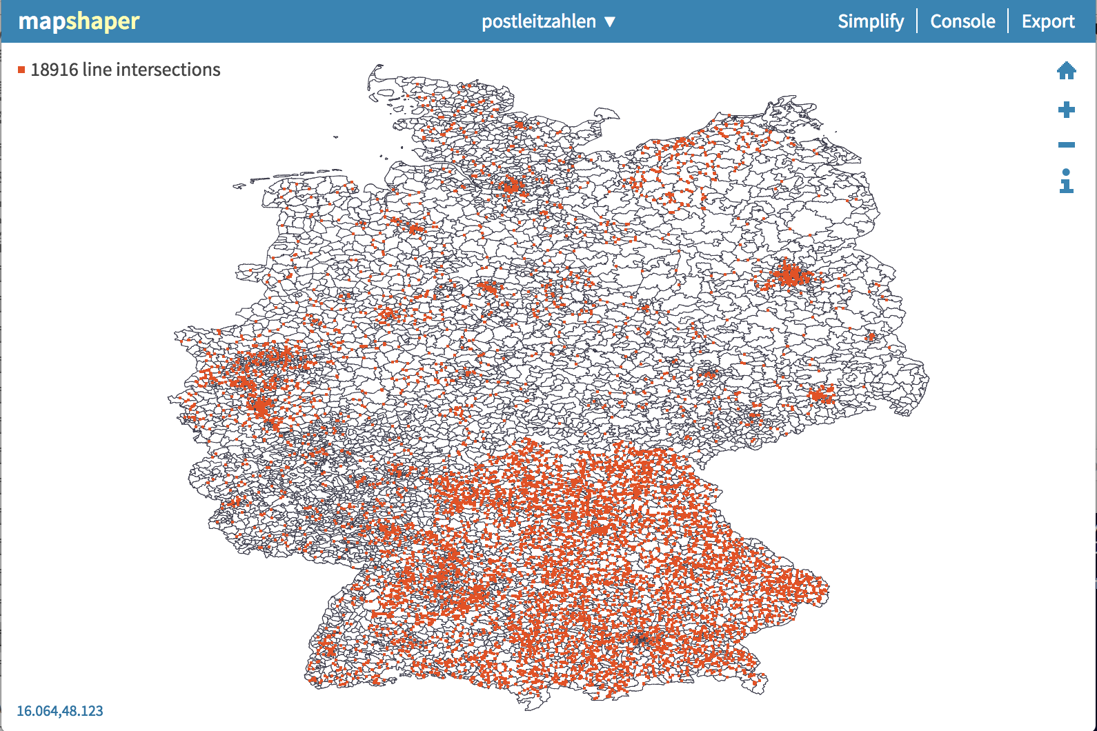 GeoJSON dissolve output in the browser differs from node
