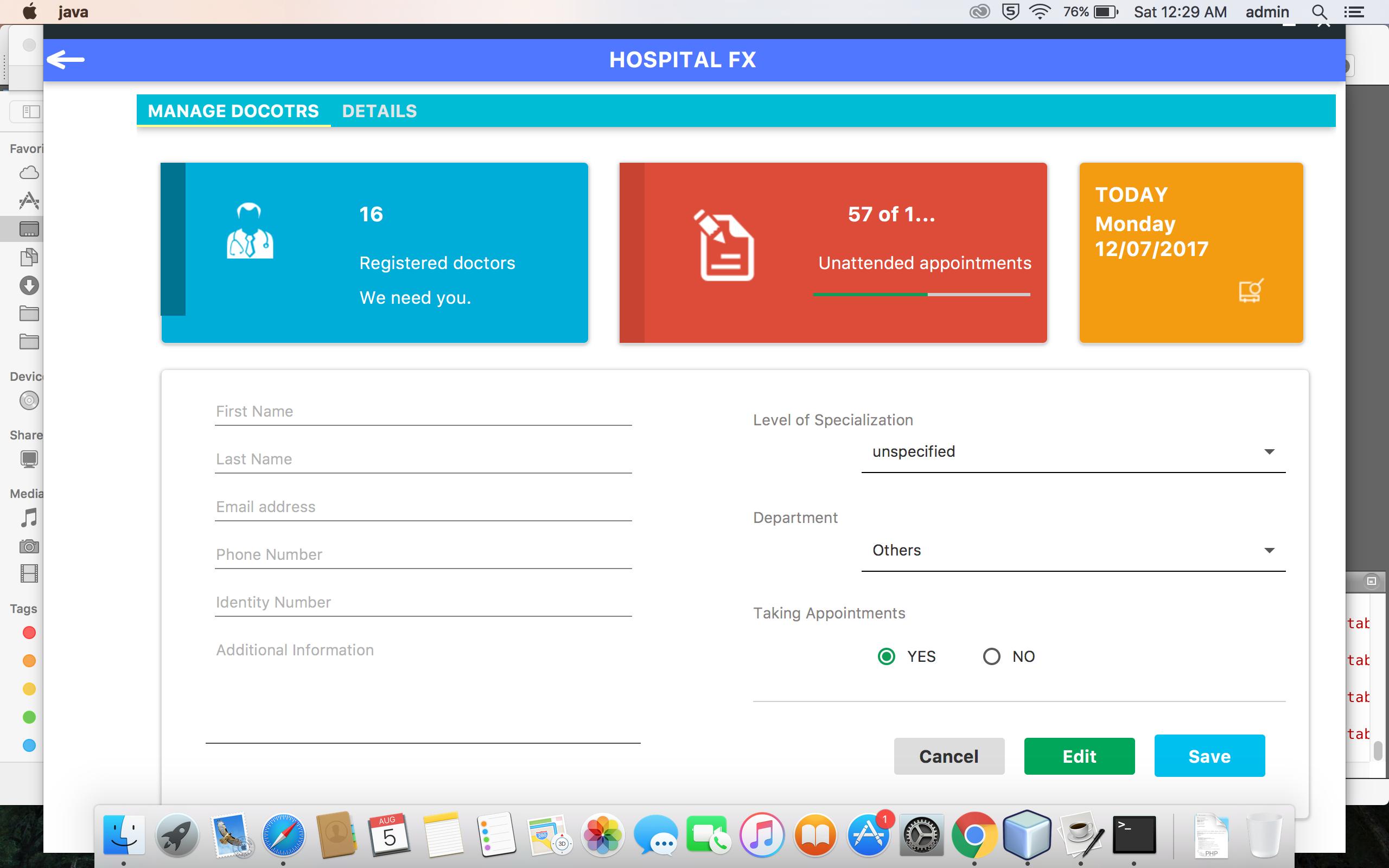 GitHub - ahmadsolehin/Hospital-Management-System-in-JAVAFX: JavaFx