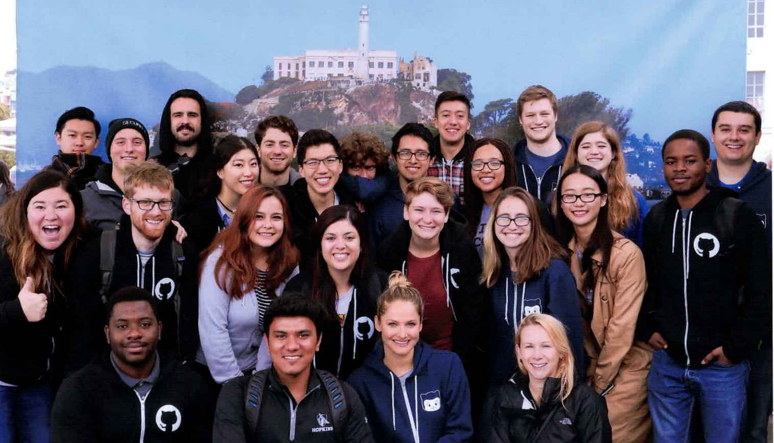 2017 GitHub Intern Group Photo