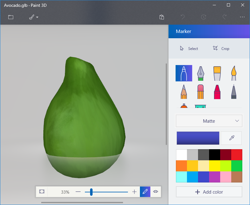 Microsoft has announced support for glTF in Paint 3D · Issue