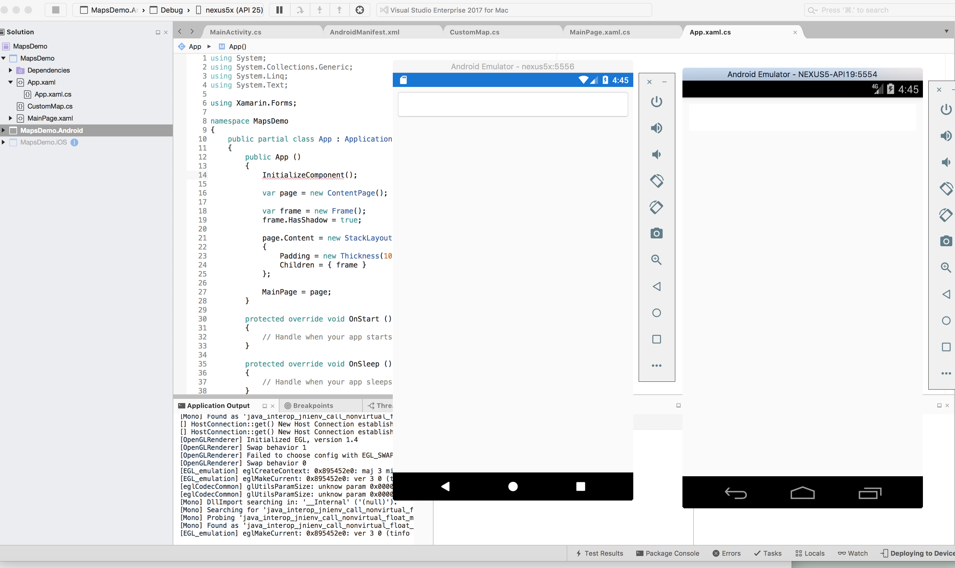 Frame HasShadow Property has no effect · Issue #2423 · xamarin ...