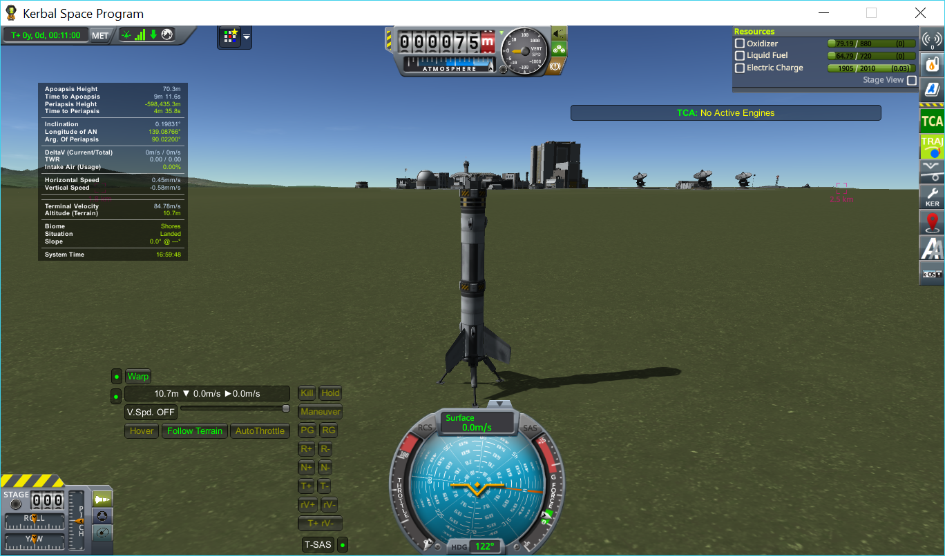 Deorbit dV calculations doesn't account for A I R B R E A K S