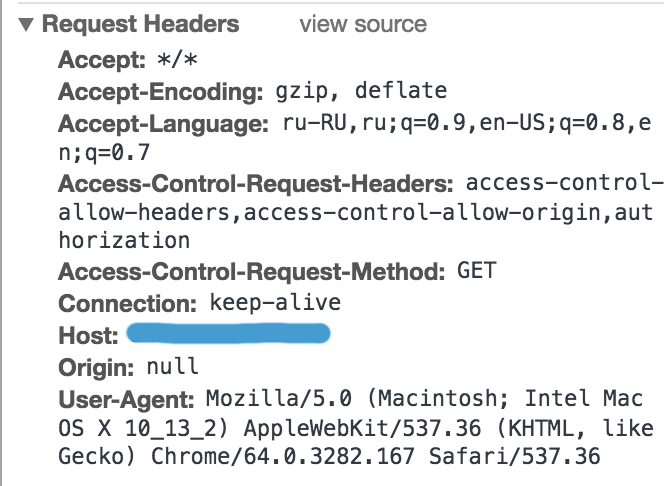 axios doesn't see request headers that I set · Issue #891 · axios