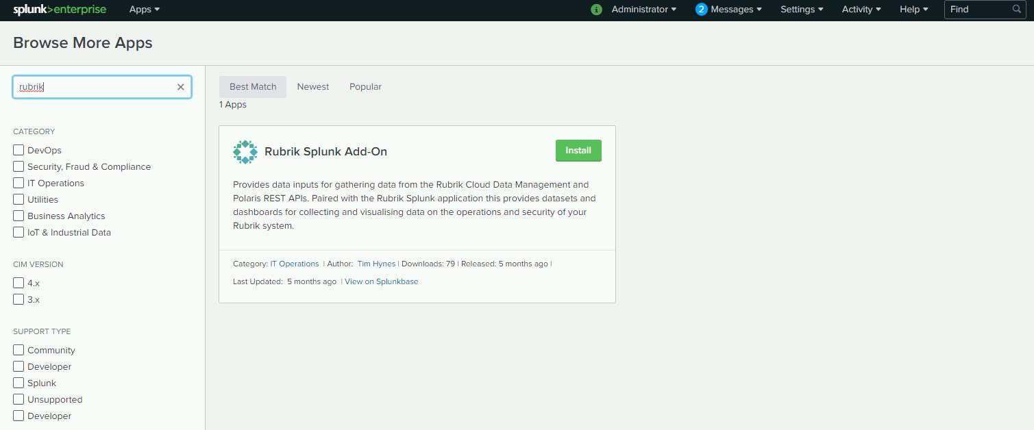 rubrik-addon-for-splunk/quick-start md at master · rubrikinc/rubrik