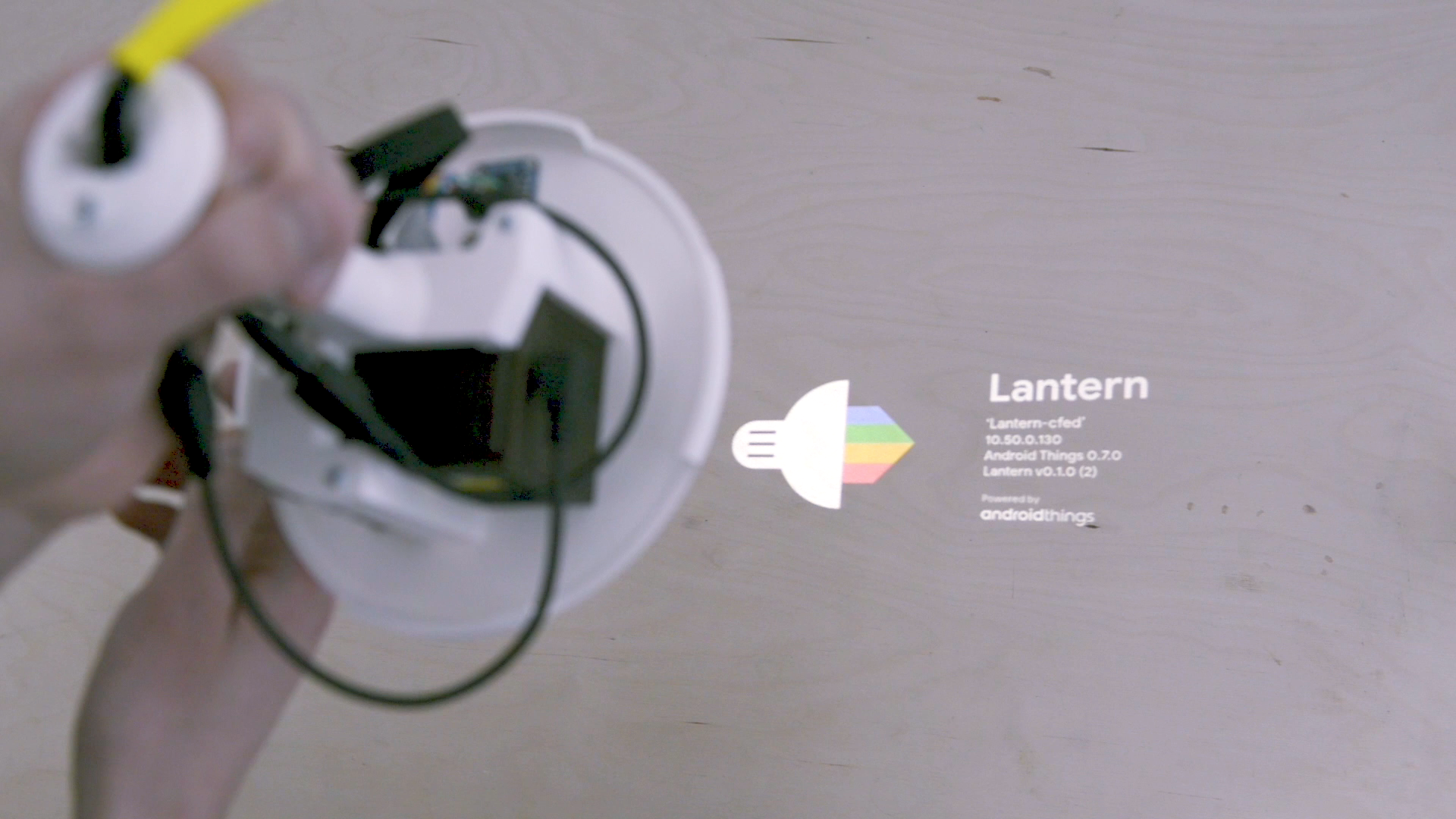 Github Nordprojects Lantern Transform Any Surface Into Mixed Wiring A Gas Lamp Projection
