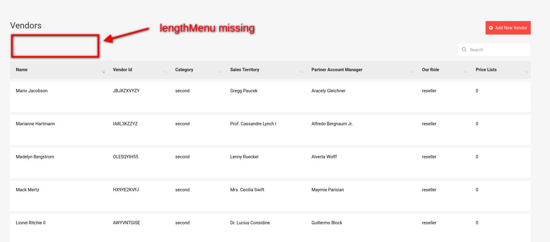 lengthMenu is not showing up · Issue #1556 · yajra/laravel