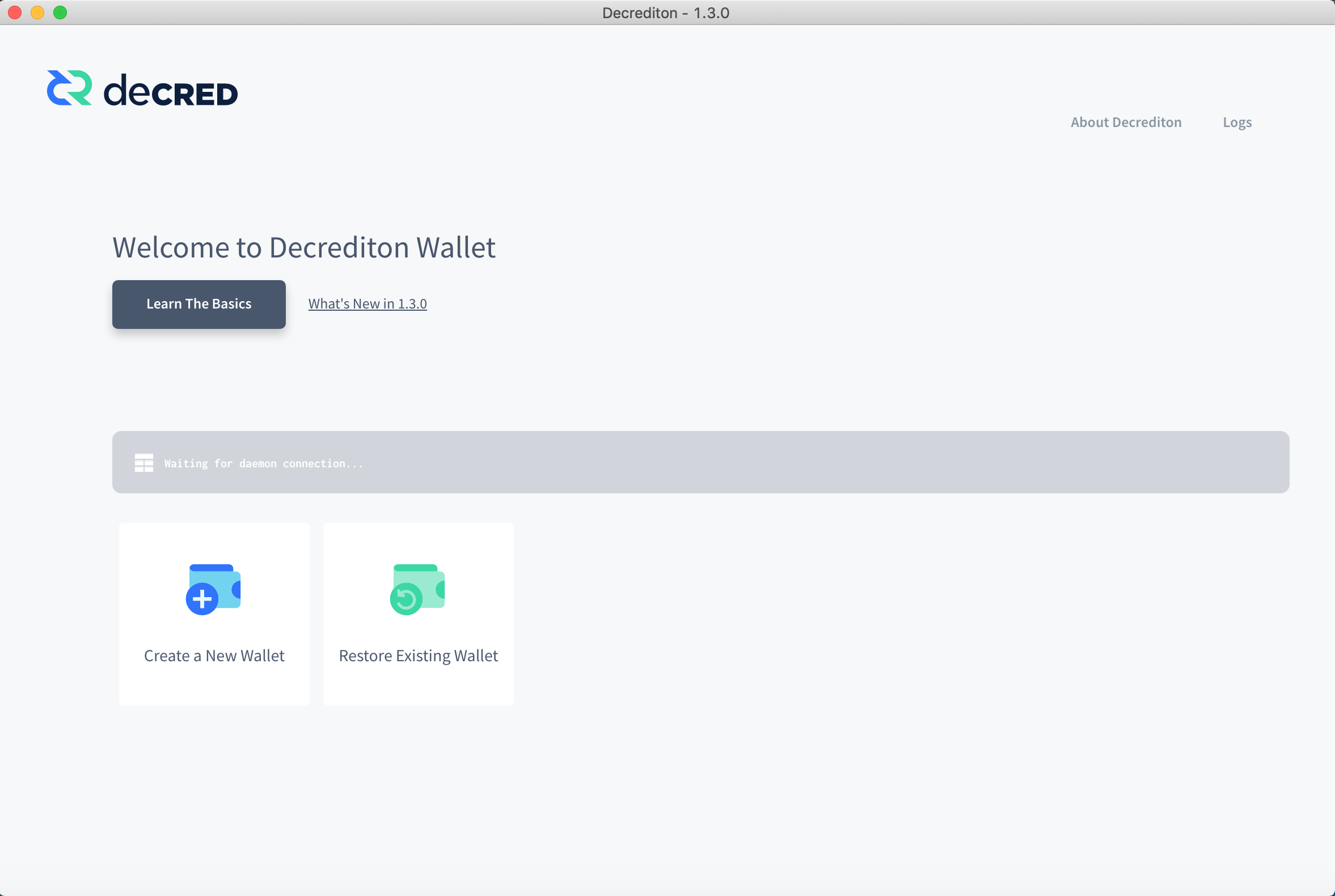 OSx Mojave - Waiting for daemon connection    · Issue #1683 · decred